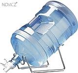 #3: NOVICZ 20 Litre Jar Drinking Water Dispenser Metal stand cradle with Aqua valve