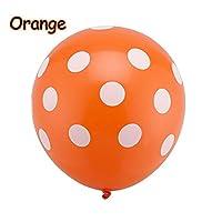 "forviupet 10/20/50/9999 Pcs Beautiful Sweet Home Latex Polka Birthday Wedding Party Decoration 12"" Dot Balloon"