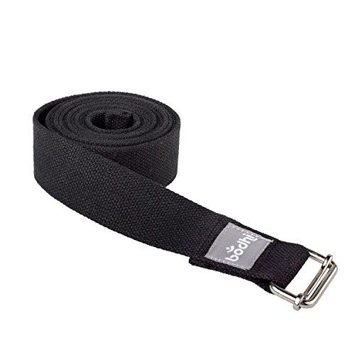 Yogistar Yogagurt Dynamic Stretching Strap Black