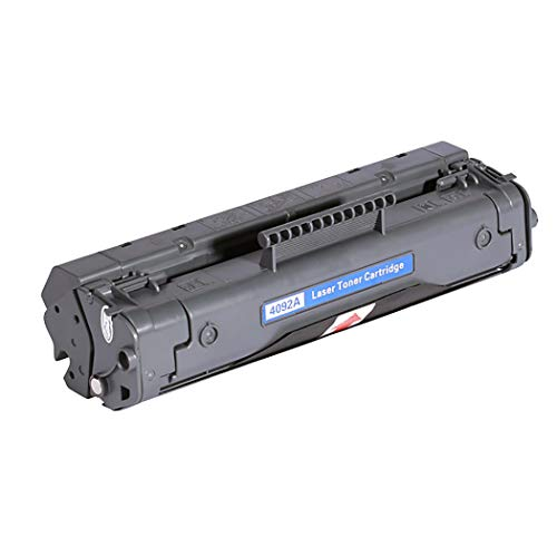 Junbosiadatto per cartuccia toner nero compatibile hp 92a c4092a, cartuccia di toner compatibile con stampante hp laserjet 1100a/3200/3220, facile da installare, di alta qualità,nero