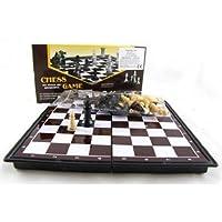 PREMIUM-Mini-Reiseschach-magnetisch-Schachbrett-19-x-19-cm-Schach-Spiel-Schachspiel-Reisespiel