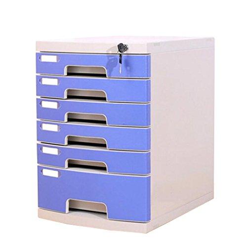 Cassetto della serratura multi-strato della scatola di immagazzinamento dell'ufficio di plastica dell'armadietto di archivio yhh