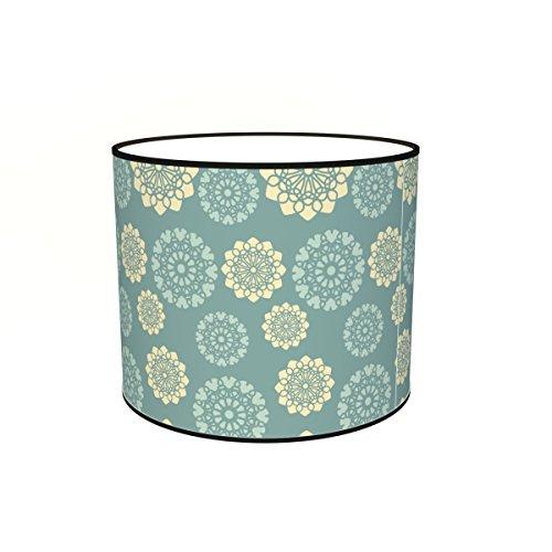 Abat-jours 7111303427807 Imprimé Gilla Lampadaire, Tissus/PVC, Multicolore