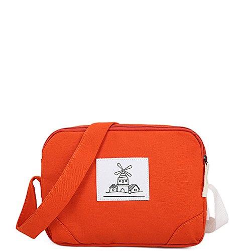 Toile diagonal paquet/Sacs en étudiant Shoulder bag/Sac d'étudiant décontracté-B D