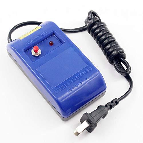 HINMAY Entmagnetisierer-Werkzeug, stilvolle Uhren-Reparatur-Schraubendreher und Pinzette, Demagnetizer Reparatur-Set für Uhren, Blau, blau, Free Size