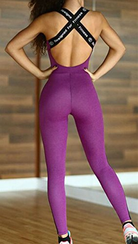 D-Pink - Legging de sport - Femme Lilas