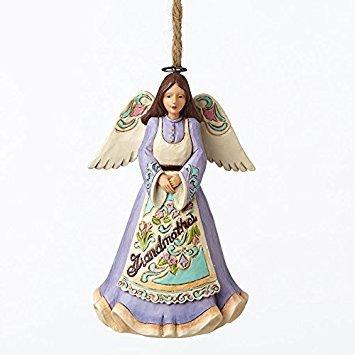 ENESCO Jim Shore Heartwood Creek Großmutter Engel Weihnachtsbaum Ornament 4053845New -