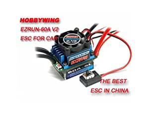 HobbyWing eZRun-60A-SL Brushless ESC for 1/12 and 1/10 Cars + Worldwide free shiping