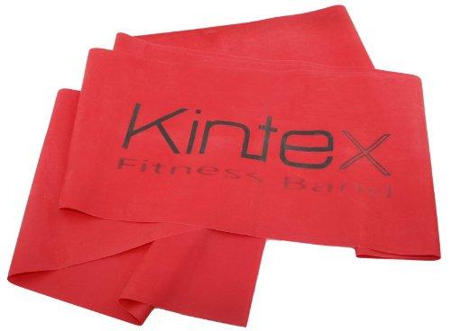 Kintex Gymnastikband Latexband 2.5m x 15cm Fitnessband, Rot (mittel)