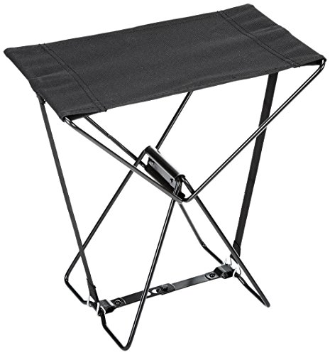Relags Travel Chair Chaise pliante Tabouret, noir, One Size