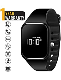 Bigowl Smart Fitness Watch, Smart Watch With Blood Pressure Heart Rate Sleep Pedometer Camera Remote Shoot Blood...