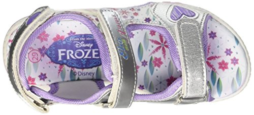 Walt Disney Mädchen S15466haz Krabbel-& Hausschuhe Argento (122)