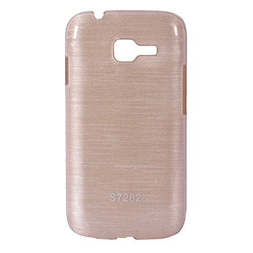 iCandy™ Hard PC Shiny Back Cover For Samsung Galaxy Star Pro S7262 - Golden  available at amazon for Rs.155