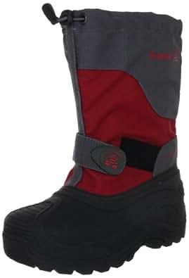 Kamik Snowtail2 NK8189, Unisex - Kinder Stiefel, Rot (red), EU 25 (US 8)