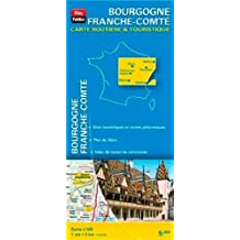 Bourgogne Franche-Comté : 1/200 000