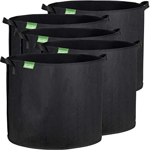 GardenMate® 5X 95l Sacos Plantas Malla