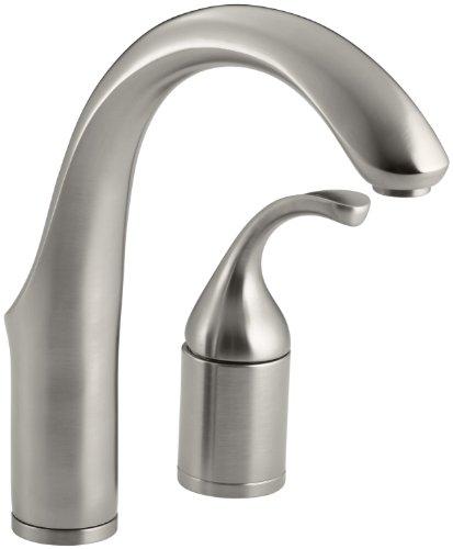Kohler Forte Entertainment Küche Spüle Wasserhahn ohne SIDESPRAY, silber, 10443-VS