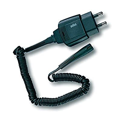 Replacement Power Cord / Lead for Braun Countour Series Electric Shavers (Non-Retail Packaging)