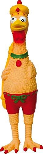 Croci C6098603 Latex Spielzeug königshuhn, 24 cm