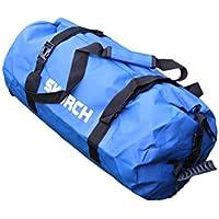 Skorch zaino impermeabile da con comoda nero spallacci imbottiti, spiaggia, kayak, Paddle Board, campeggio, sci e vela. , borsone impermeabile blu (30x 58cm)