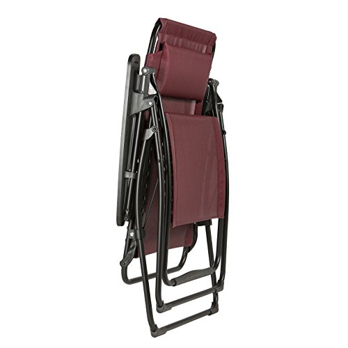 Lafuma Extra Large LFM3082 Futura XL Reclining Chair - Ruby