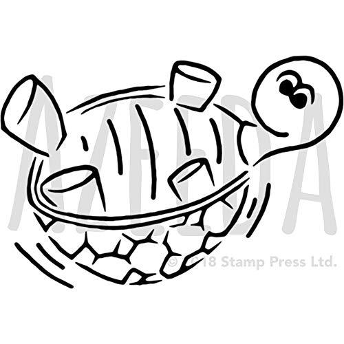 Azeeda A5 'Schildkröte' Wandschablone / Vorlage (WS00004442) -