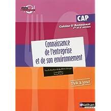 Connaissance de l'entreprise et de son environnement – CAP Cuisine et Restaurant