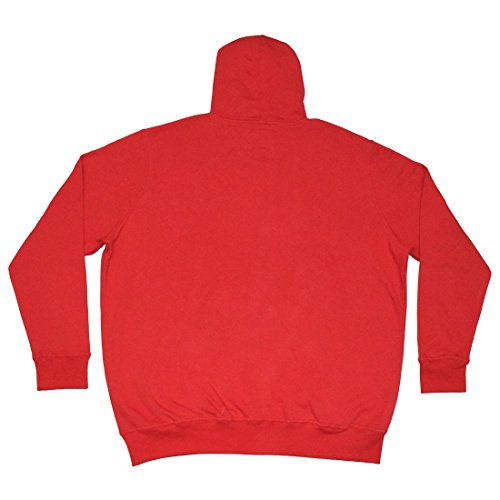 Big & Tall NHL mens New jersey Devils Athletic zip-up hoodie/Jacket, Uomo, Red Red