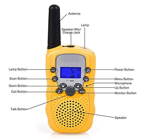 Zoom IMG-2 flybiz walkie talkie ricetrasmittente 8