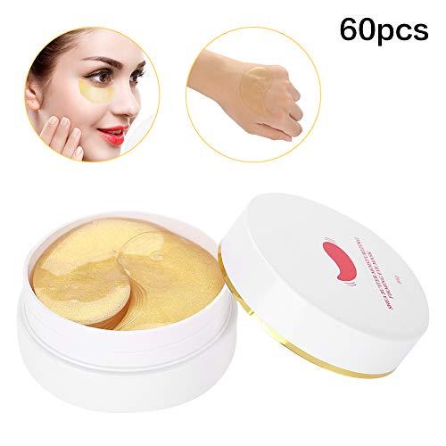 Masque pour les yeux au beurre de karité naturel 60 pcs, Masque pour les yeux hydratant et rafraîchissant, Peau anti-âge hydratante et éclaircissante, Utilisé pour éliminer les rides