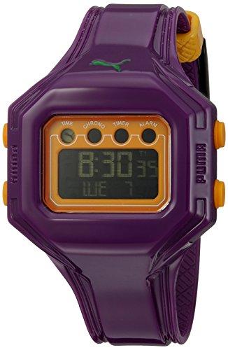 Puma A.PU910772006 - Reloj de Mujer de Cuarzo, Correa de plástico Color Lila