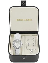 Pierre Cardin - Juego de Reloj con Collar y Pendientes para Damas - PCX4686L195