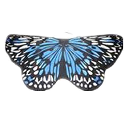 (TIFIY Halloween Mädchen Schmetterling Schal Cosplay Pixie Vertuschen Outwear Beach Kostüm Zubehör Partei Böhmischen Kleidung Heißer 118 * 48 cm)
