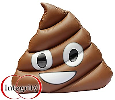 Bouée géant emoji caca gonflable. Piscine géant emoji poop gonflable flottant. lit d'air géant emoji poop gonflable piscine jouet par Integrity co