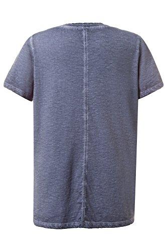 GINA_LAURA Damen Shirt 710948 Stahlblau