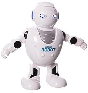 JUINSA- Robot bailarín con luz y Sonido, 22 x 20 cm (96013)