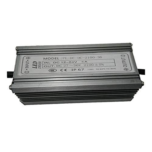 Homyl 70W DC12-24V 10 String 7 und Boost Dimmen der Niederspannungs-LED-Flutlicht-Stromversorgung -