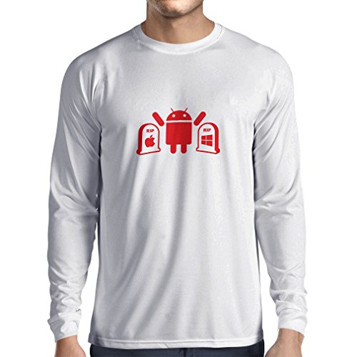 n4215l-t-shirt-long-sleeve-the-winner-is-android-gift-t-shirt-large-bianco-red