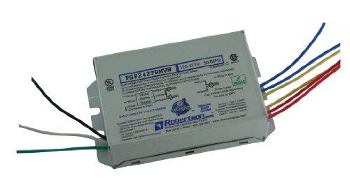 Robertson 3p20156psp242trmvw fluoreszierend eballast für 2cftr42W/GX24q CFL Lampen, Programm Start, 120-277VAC, 50-60Hz, normal Vorschaltgerät Factor, HPF, -