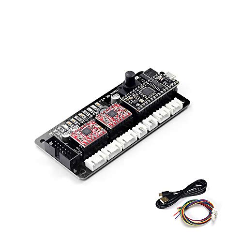 EleksMaker ManaSE 2 Axis Dual Y-Achsen Stepper DIY Laser Motor Treiber Controller Board für DIY Laser Graveur