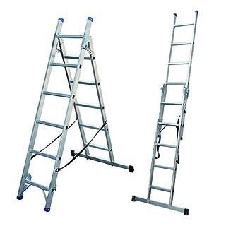 Combination Step Ladder 3 Way | Aluminium Step Ladders | Staircase Ladder | EN 131