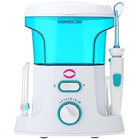 Anself yasi FL de V9eléctrico irrigador dental Flösser presupuesto Agua holen con 7ST. Boquillas Gum Care limpieza dental Juego de