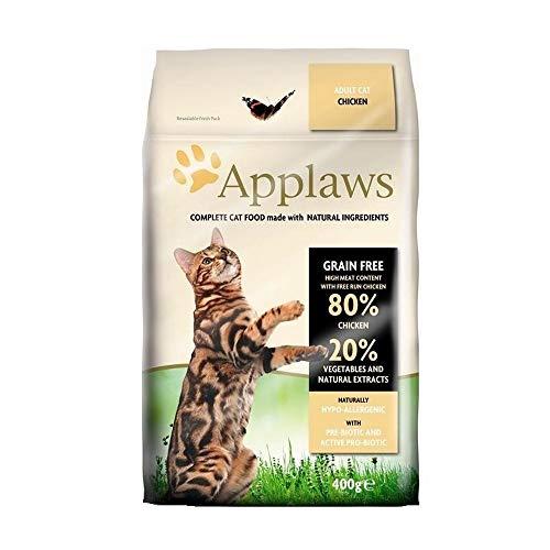 Applaws Natural Adult Huhn Katzen Trockenfutter (400 g) (kann variieren)