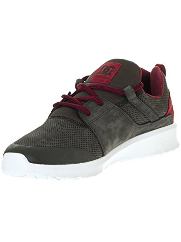 DC Shoes HEATHROW PRESTI M SHOE, Sneakers basses homme Grey/Red