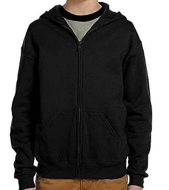 ADBUCKS Unisex Kids Boys & Girls Zip Hoodies Sweatshirt Made by Rich Cotton Full Sleeves Jacket