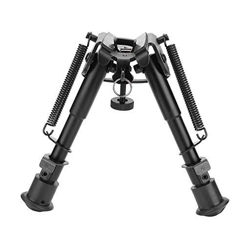 Alomejor Gewehr Zweibein 6-9 Zoll Taktiken 20mm Picatinny Jagdgewehr Zweibein mit verstellbaren Beinen für Outdoor Jagd Zubehör -