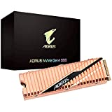 Gigabyte AORUS NVMe Gen4 M.2 1TB PCI-Express 4.0 Interface High Performance Gaming, Full Body Copper Heat Spreader, Toshiba 3D NAND, DDR Cache Buffer, 5 Anni di Garanzia SSD GP-ASM2NE6100TTTD