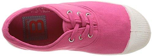 Bensimon Tennis, Unisex-Kinder Sneakers Pink (rose Vif 468)