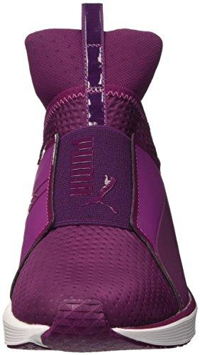 Puma Fierce Quilted Sneaker - Scarpe da Ginnastica Basse Donna Magenta Purple/Bianco