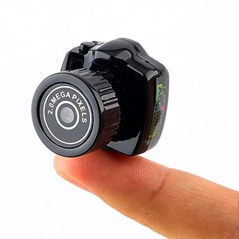 Mini Webcam for Home Security,Tsing Smallest Mini Camera Camcorder Video Recorder DVR Webcam for